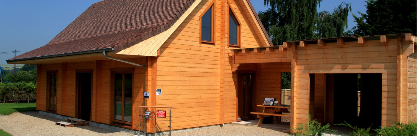 Timber frame homes / Log homes / Glue-laminated structures