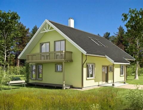 Koka karkasa māja - Gauja 158