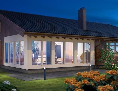 Koka karkasa māja - Jurmala 170