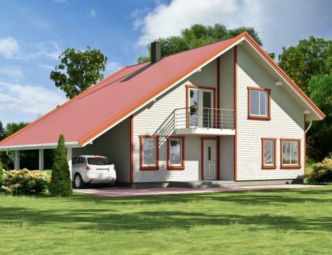 Koka karkasa māja - Anita 218
